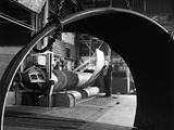 Rolling Plate at Edgar Allens Steel Foundry, Sheffield, South Yorkshire, 1964 Photographic Print by Michael Walters