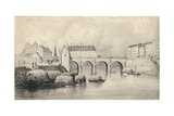 The Pont Marie, 1915 Giclee Print by  Pernot