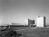 The Exterior of Spillers Animal Foods Mill, Gainsborough, Lincolnshire, 1962 Photographic Print by Michael Walters