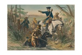 Major Washington on His Mission to the French Commander Giclee Print