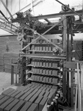 Palletising Machine at Whitwick Brickworks, Coalville, Leicestershire, 1963 Photographic Print by Michael Walters