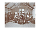 Gymnastic Display at Elm Lodge Residential School for Elder Blind Girls, London, 1908 Photographic Print