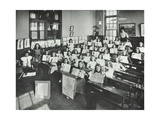 Nature Lesson, Albion Street Girls School, Rotherhithe, London, 1908 Photographic Print
