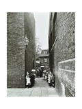 Children in an Alleyway, Upper Ground Place, Southwark, London, 1923 Photographic Print