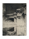 The Pont Neuf, 1915 Giclee Print by Roi Partridge