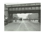 Great Eastern Railway Bridge over the Bow Road, Poplar, London, 1915 Photographic Print
