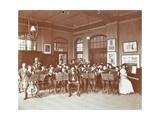 School Orchestra, Cromer Street School/ Argyle School, St Pancras, London, 1906 Photographic Print