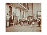 Drawing Class, Myrdle Street Girls School, Stepney, London, 1908 Photographic Print