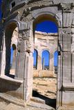 The Market, Leptis Magna, Libya, C3rd Century Ad Fotografisk tryk af Vivienne Sharp
