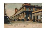 Street Scene, Havana, Cuba, C1910 Giclee Print