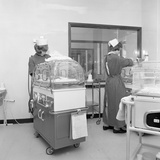 Special Care Unit for Premature Babies, Nether Edge Hospital, Sheffield, South Yorkshire, 1969 Photographic Print by Michael Walters