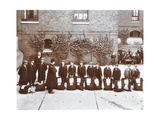 Roll Call of Boys About to Emigrate to Canada, Essex, 1908 Photographic Print