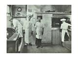 Boys Making Bread at Upton House Truant School, Hackney, London, 1908 Photographic Print