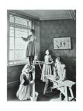Housewifery Lesson, Dulwich Hamlet School, Dulwich Village, London, 1908 Photographic Print
