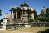 Sat-Bis-Deori Temple, Chittaurgarh, Rajasthan, India, 11th Century. Jain Stone Temple Photographic Print by Vivienne Sharp