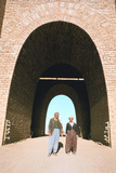 Two Workmen Outside the Mashki Gate, Nineveh, Iraq, 1977 Photographic Print by Vivienne Sharp