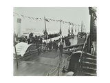 The Prince of Wales Inaugurating the London Steamboat Service, River Thames, London, 1905 Photographic Print