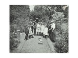 How to Read a Sun-Dial, Birley House Open Air School, Forest Hill, London, 1908 Photographic Print