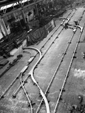 Installation of Trackwork in an Ici Plant, Sheffield, South Yorkshire, 1963 Photographic Print by Michael Walters