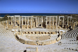 The Theatre, Leptis Magna, Libya Photographic Print by Vivienne Sharp