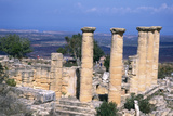 The Temple of Apollo, Cyrene, Libya, 6th Century Bc Fotografisk tryk af Vivienne Sharp