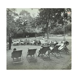 Reading Lesson Outside, Bostall Woods Open Air School, London, 1907 Photographic Print