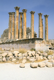Temple of Artemis, Jerash, Jordan Photographic Print by Vivienne Sharp