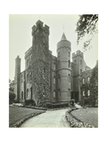 Vanbrugh Castle, Westcombe Park Road, Greenwich, London, May 1933 Photographic Print