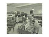 Piano Repairing Class, Northern Polytechnic, London, 1930 Papier Photo