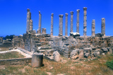 Palace of Columns, Tolmeita, Libya Photographic Print by Vivienne Sharp