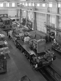 Locomotives Being Assembled at the Thomas Hill Factory, Kilnhurst, South Yorkshire, C1960S Photographic Print by Michael Walters