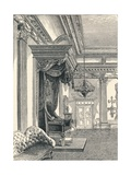 The Throne Room Dublin Castle, 1896 Giclee Print