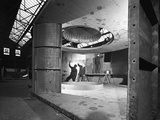Fabricating a Giant Extractor Fan, the Edgar Allen Steel Co, Sheffield, South Yorkshire, 1963 Photographic Print by Michael Walters