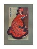 Mrs Olga Nethersole in Sapho, C1900 Giclee Print