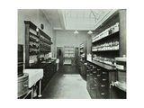 Dispensary for Out-Patients, Hammersmith Hospital, London, 1935 Photographic Print