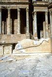 Roman Theatre, Sabratha, Libya, C161-C192 Ad Photographic Print by Vivienne Sharp