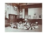 Music Lesson, Southfields Infants School, Wandsworth, London, 1906 Photographic Print