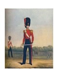 Officer of the Coldstream Guards (Winter Dress), 19th Century (1909) Giclee Print by Ralph Nevill