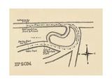 Epsom Race Course, 1940 Giclee Print