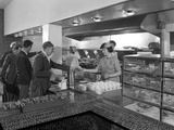 Steelworks Canteen, Park Gate, Rotherham, South Yorkshire, 1964 Photographic Print by Michael Walters