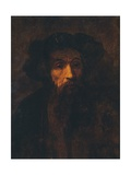 A Bearded Man in a Cap, (1657), 1903 Giclee Print by  Rembrandt Harmensz van Rijn