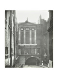 Rear Entrance to the Royal Society of Arts, Westminster, London, 1936 Photographic Print