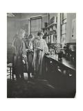 Botany Lesson, Chelsea Secondary School (Hortensia Road School), London, 1911 Photographic Print