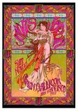 Janis Joplin, Avalon Ballroom, San Francisco 1967 Poster by Bob Masse