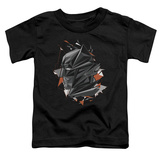 Toddler: Batman vs. Superman- Fractal Bat Head T-shirts
