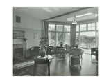 The Sun Lounge at Orchard House, Claybury Hospital, Woodford Bridge, London,1937 Photographic Print
