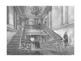 Staircase in Northumberland House, 1897 Giclee Print