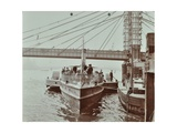 London Steamboat Service, River Thames, London, 1907 Photographic Print