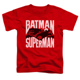 Toddler: Batman vs. Superman- Silhouette Action Shirt