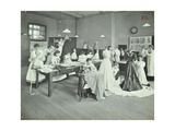 Dressmaking Class, Borough Polytechnic, Southwark, London, 1907 Photographic Print